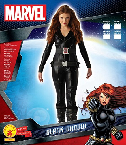 Rubie' s Costume per adulto da donna ufficiale Marvel Black Widow - grande