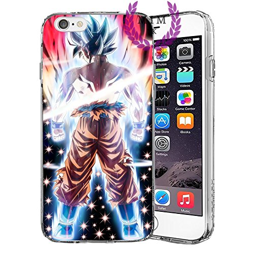 Dragon Ball Z Super GT iPhone Hulle/Schalen Case Cover - Hochste Qualitat - Einzigartige Neueste Entwurfe - Alle iPhone Modelle- Viele Entwurfe - Tournament Of Power - Goku Black Rose - Goku Blue - Gohan - Jiren - Vegeta Blue - DBS - DBZ - DBGT - MIM UK (iPhone 6 Plus/6s Plus, Beast 2) (Dragon Ball Iphone)