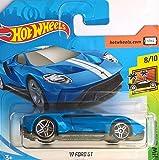 HOT WHEELS Ford GT 2017-1:64 - Farbe: Royal Blue (HW-Serie 8/10 Exotics 2018)