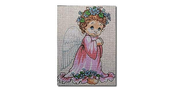 Kit mezzo punto completo Piccolo angelo mis 15x20cm cod 1055