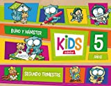 KIDS EDEBE 5 AÑOS SEGUNDO TRIMESTRE - 9788468309811