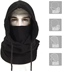 VASTER Tactical Heavyweight Balaclava Outdoor Sports Mask BLACK
