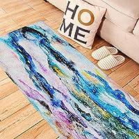 Aufkleber Terzsl 60x120cm Abstrakt Aquarell Stil Gedruckt Selbstklebende Bodenmatte Aufkleber