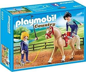 Playmobil-6933 Entrenador de Caballos, Multicolor (6933)