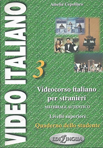 Video Italiano: Quaderno Dello Studente 3 by Amelia Cepollaro (2001-10-15)