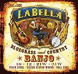 Labella 720l-le Banjo ténor en soie et acier pour banjo Cordes, lumière