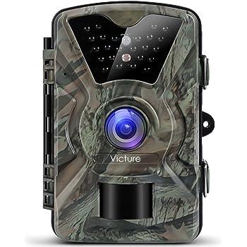 Victure HC200 - Cámara de Caza Vigilancia 12MP 1080P IP66 Impermeable 24 IR Invisible 1 PIR Sensor de Movimiento 2.4 LCD Visión Nocturna Hasta 20m ...