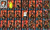 MATCH ATTAX 2018/19 BOURNEMOUTH - FULL 21 CARD TEAM SET including ALL 3 BOURNEMOUTH MAN OF THE MATCH CARDS