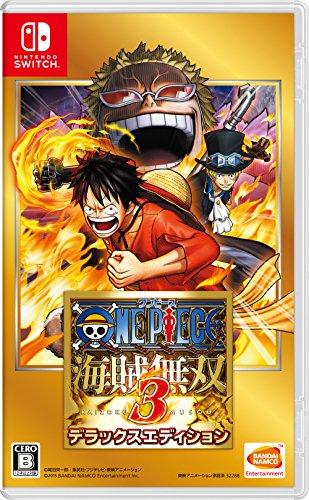 One Piece Kaizoku Musou 3 Deluxe Ed NINTENDO SWITCH JAPANESE IMPORT REGION FREE
