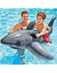 Círculo de Natación Adulto Monte Animales Juguetes de Agua Círculo flotante para niños Pontón Contiene inflador , a