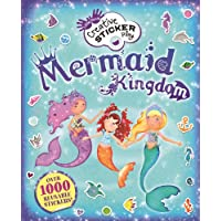 Mermaid Kingdom: Over 1000 Reusable Stickers! (Little Hands Creative Sticker Play)