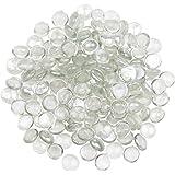 YiYa Transparente Gema de Vidrio Piedras de Cristal Piedra Preciosa de Vidrio para la decoración del hogar llenado de jarrone