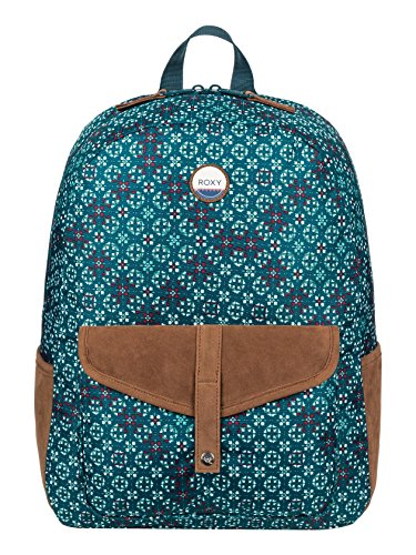 Roxy ERJBP03537 Carribean Mochila tipo casual, 41 cm, 18 litros, Reflecting Pond