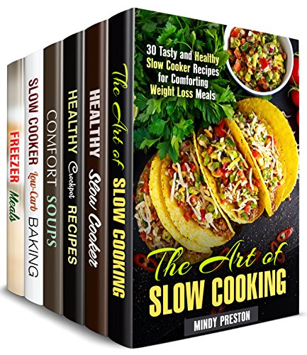 Crockpot Recipes Box Set (6 in 1) : Over 200 Best Slow Cooker Meals for Stress-Free Cooking (Slow Cooker Cookbook) (English Edition) (Box Pot Recipe Crock)