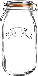 Kilner Signature Lot de 6 bocaux de conservation 0,45 l