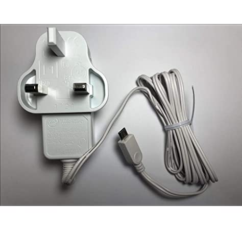 USB 5v Charger Cable Compatible with  BT Video 6000 Parent/'s Unit Baby Monitor