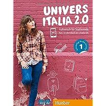 UniversItalia 2.0 A1/A2: Corso di italiano - vollständige Neubearbeitung / Kursbuch + Arbeitsbuch + 2 Audio-CDs