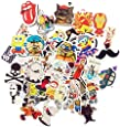 (Pack of 100) Stickers Skateboard Snowboard Vintage Vinyl Sticker Graffiti Laptop Luggage Car Bike Bicycle Decals Mix Lot Fashion Cool