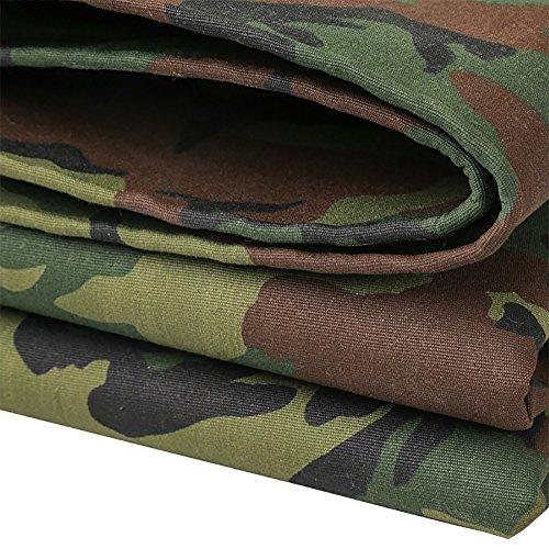 Bâche La de Camouflage extérieure 90% imperméable à l'eau, Anti-altération de la résistance à la déchirure de Camion de Couverture de Protection Contre la poussière de Camion Couvre Le Tissu ver