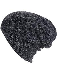 WanYang Unisex Invierno Hombre Gorros de punto Sombrero de Beanie Esquí  Hip-Hop de Invierno 4415aaf4ef5