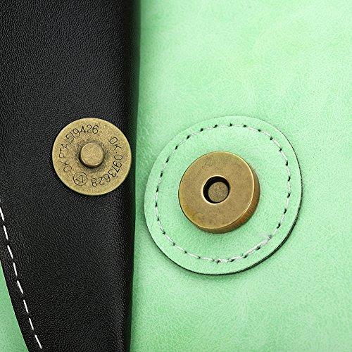 Faysting EU donna borsa a tracolla borsa a spalla pelle materiale piccola retro sempilce stile buon regalo san valentino F