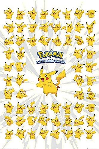 Pster-Pikachu-Pokmon