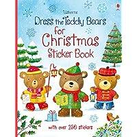 Dress the Teddy Bears for Christmas (Dress the Teddy Bears Sticker Books)