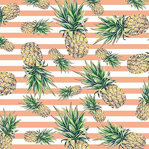Apple iPhone 5c Case Skin Sticker aus Vinyl-Folie Aufkleber Ananas Früchte Sommer DesignSkins® glänzend