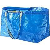 Ikea Große Tasche, ideal zum Einkaufen, Waschen und Aufbewahren, Blau