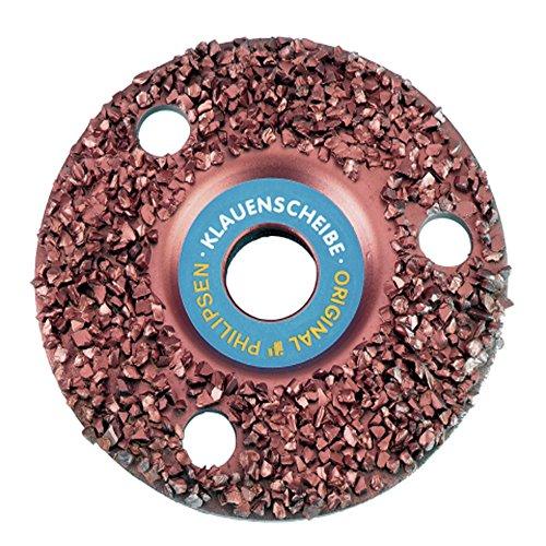 Super disque fendue, 150 mm Grain 30, étanche carbure