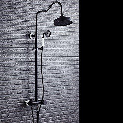 nero-bronzo-kit-ottone-vintage-stile-europeo-doccia-soffione-doccia-saliscendi