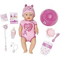BABY born Soft Touch Girl Puppe mit lebensechten Funktionen und viel Zubehör, bewegliche Gelenke und weiche Soft-Touch…