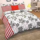 Story@Home 152 TC Cotton Double Bedsheet with 2 Pillow Covers - White
