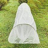 VIHII Winterschutz für Pflanzen gegen Frostschutz raue Wetterbeständigkeit Keimung von Samen 211 * 211cm 50g/m²