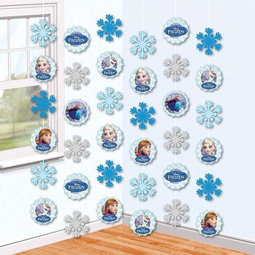 Disney Eiskönigin Frozen - Party Deko Hänger Zimmer Dekoration 6 Stück