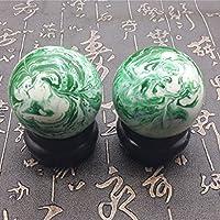 QTZS Chinesisches Traditionelles Fitness Ball Dekompression Handball Natürlich Jade 50mm450g preisvergleich bei billige-tabletten.eu
