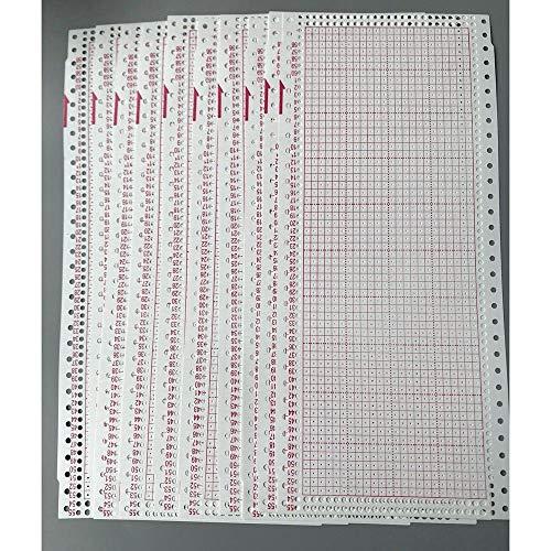 nk Punch Card 24 Stich für Brother Singer SReed Strickmaschine ()
