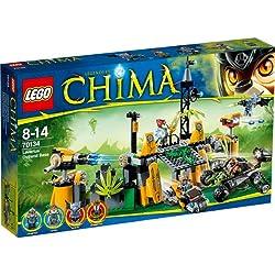 LEGO - Juego de construcción Chima , La base de Lavertus (70134)