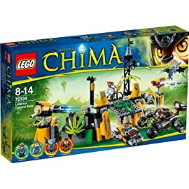 LEGO Legends of Chima 70134 Lavertus Lagerversteck