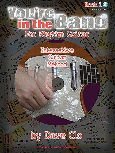 You're in the band - interactive guitar method guitare+CD