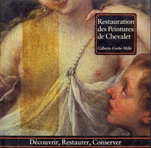 Restauration des peintures de chevalet par Gilberte Émile-Mâle