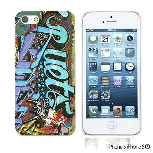 OBiDi - Art Paintings Hardback Case / Housse pour Apple iPhone SE / Apple iPhone 5S / 5 - Vintage European Painting Graffiti