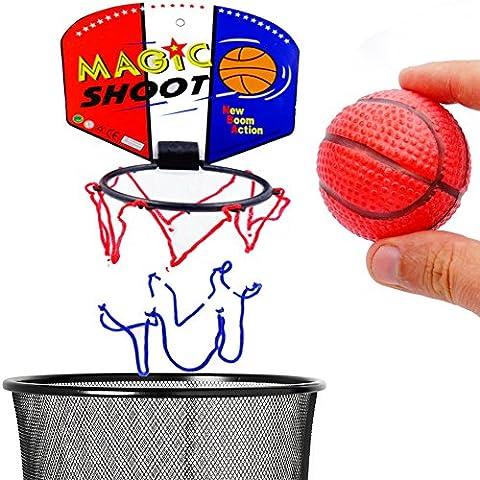 German Trendseller® - 1 x petit basket-ball┃mini panier avec balle┃ petit cadeau┃l'anniversaire d'enfant┃sport
