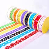 Pindia Handcraft Adhesive Roll Set - Pack of 6 (Multicolor)