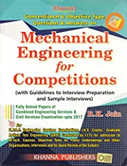 Conventional & Objective Typw Questions & Answers on Mechanical Engineering for Competitions (with Gui