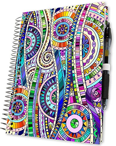 Planner 2018 a5 Week to View - Hardbound Goals Diary with Pages in Full Colour - Personal Organiser with 2018 Calendar - Daily Weekly Monthly Yearly Agenda Book - Hardcover - by Tools4Wisdom Planners