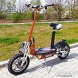 Elektro Scooter 1000 Watt E-Scooter Roller 36V / 1000W Elektroroller - Viron V.7 (orange)