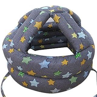 Ayouyou Baby antikollisions Helme Säuglingskleinkind Schutzhelm Kopfschutz (Blau Star)