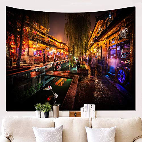 Klein Ball Teppich-Mode Wandteppich Frischen Stil Muster Decke Mandala Böhmischen Dekorativen Wandteppich Home Decor150X230CM