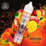 Illusions Vapor e-Liquid Nirvana, Shake-and-Vape für Ihre e-Zigarette, 0.0 mg Nikotin, 50 ml